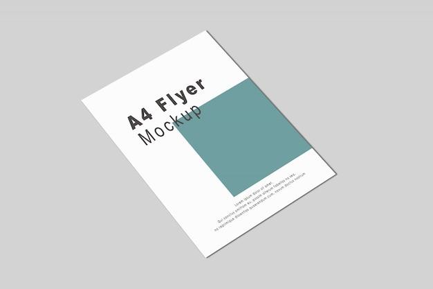 Maqueta de folleto a4 / a5