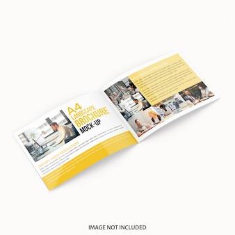 Maqueta del folleto del paisaje