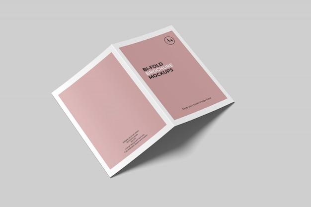 Maqueta de folleto plegable a4 / a5