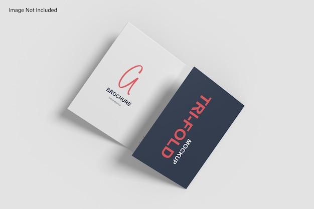 Maqueta de folleto tríptico a5