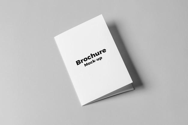 Maqueta de folleto