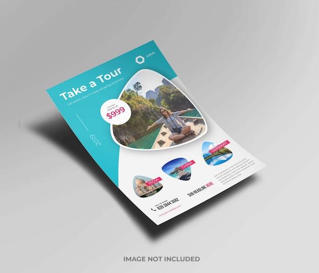 Maqueta folleto