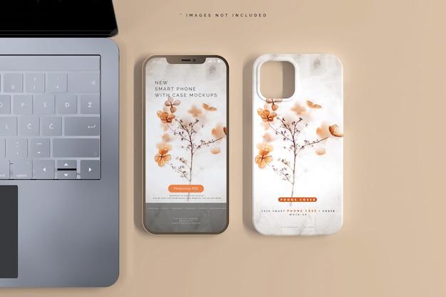 Maqueta de funda o funda para smartphone