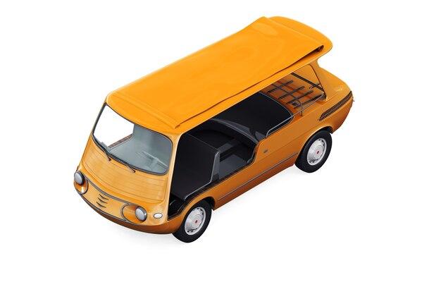 Maqueta de furgoneta utilitaria 1957