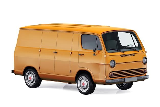 Maqueta de furgoneta utilitaria 1966