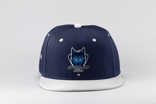 Maqueta de gorra deportiva