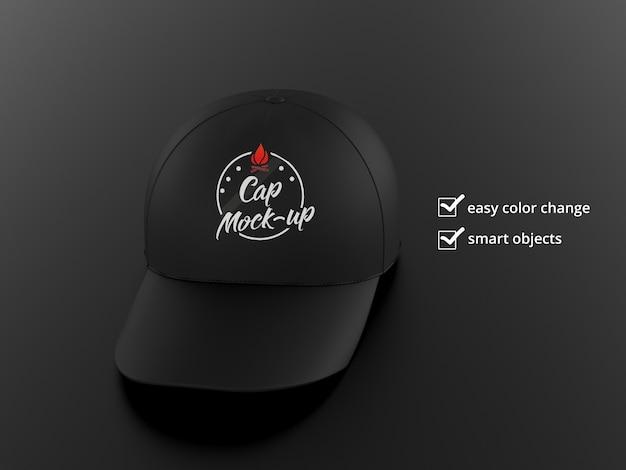 Maqueta de gorra snapback