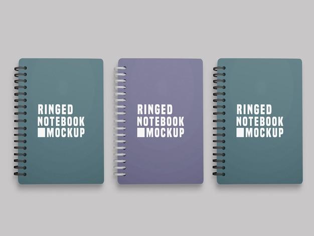 Maqueta de juego de cuaderno