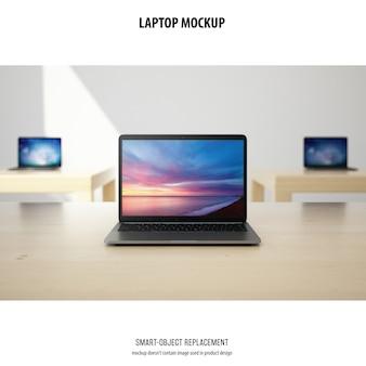 Maqueta para laptop