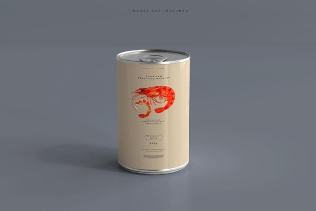 Maqueta de lata de comida