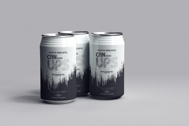 Maqueta de lata de refresco 350ml
