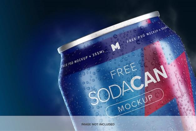 Maqueta de lata de refresco de 355 ml