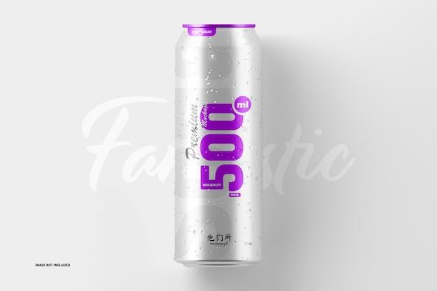 Maqueta de lata de refresco de 500 ml