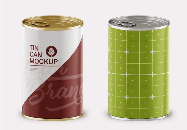Maqueta de lata