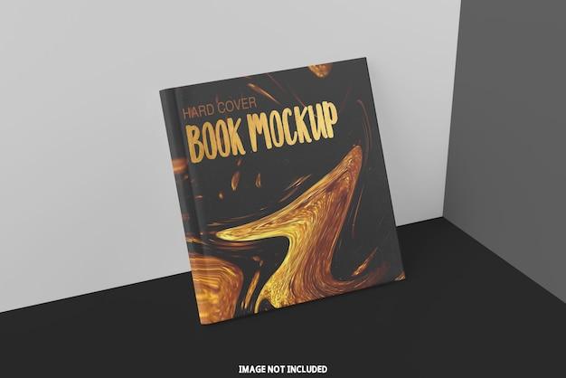 Maqueta de libro cuadrado