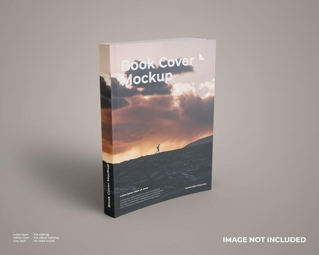 Maqueta de libro de tapa blanda PSD Premium