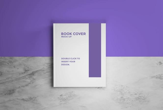 maqueta de libro de tapa premium psd