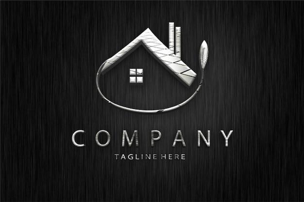 Maqueta del logotipo de propiedad