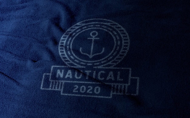 Maqueta de logotipo de ropa