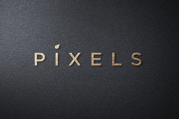 Maqueta de logotipo simple de lujo