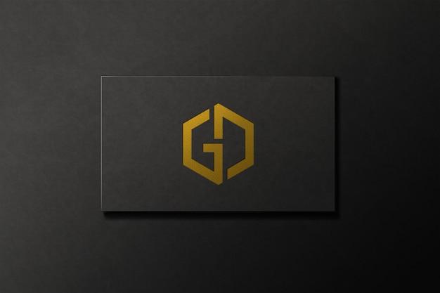 Maqueta de logotipo de software de diseño gráfico