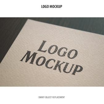 Maqueta de logotipo