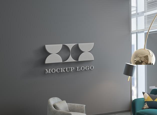 Maqueta de marca de oficina
