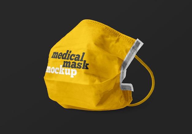 Maqueta de máscara médica