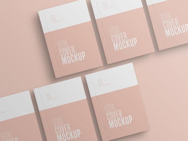 Maqueta múltiple de portada de libro