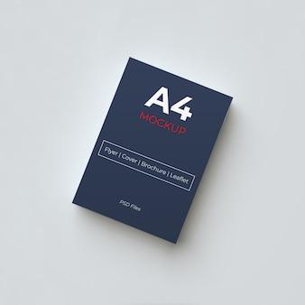 Maqueta de papel a4