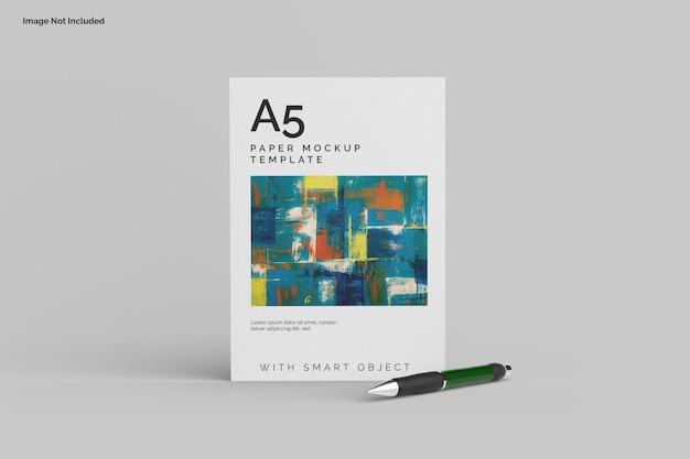 Maqueta de papel a5