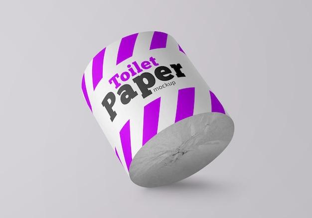 Maqueta de papel higiénico