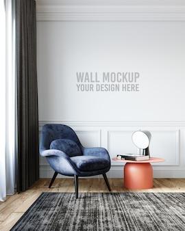 Maqueta de papel tapiz interior