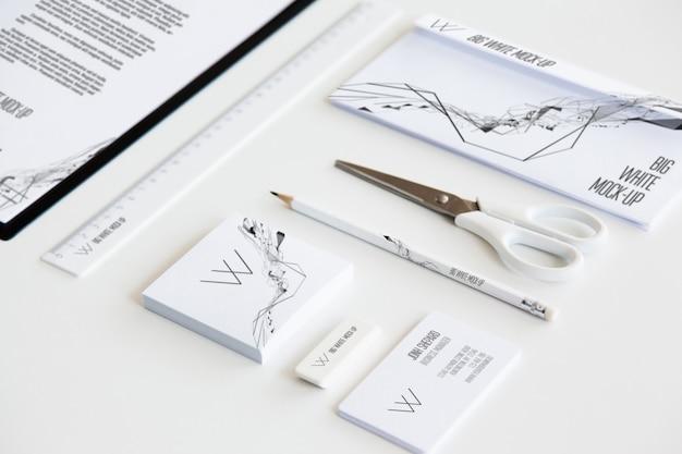 Maqueta de papelería