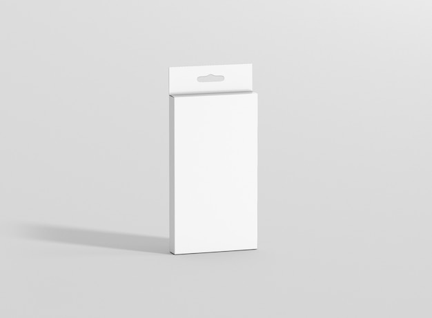 Maqueta de paquete de caja