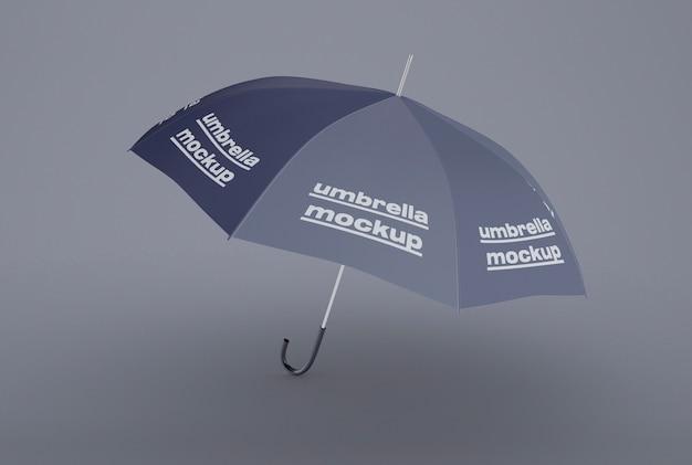 Maqueta de paraguas