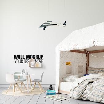 Maqueta de pared interior para sala de juegos para niños