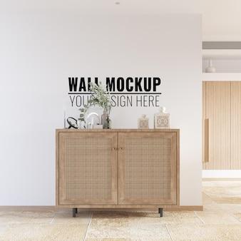 Maqueta de pared interior