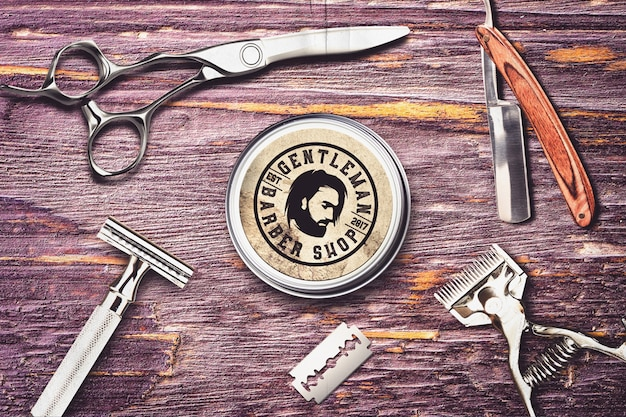 Maqueta de peluquería