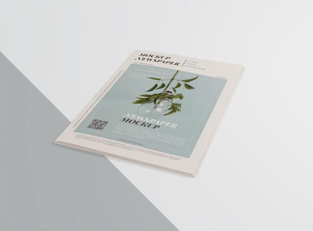 Maqueta de periódico