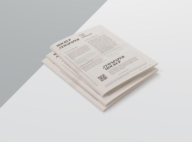 Maqueta para periódico