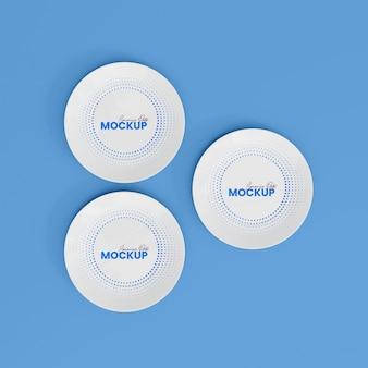 Maqueta de placa de cerámica 3d