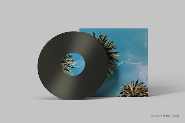 Maqueta de portada de disco de vinilo
