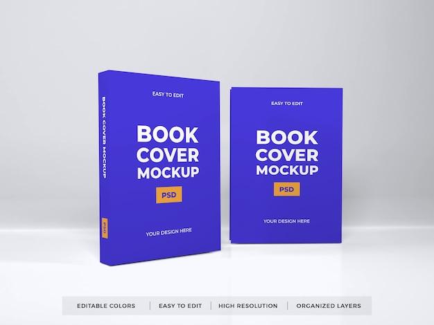 Maqueta de portada de libro realista