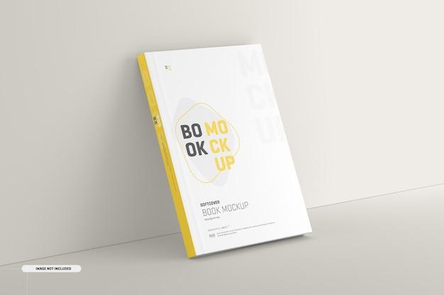 Maqueta de portada de libro de tapa blanda