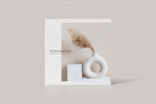Maqueta de portada de revista para presentación empresarial
