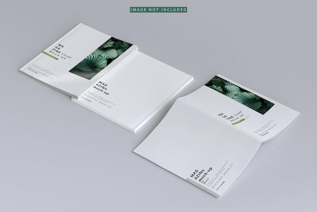 Maqueta de portada de revista