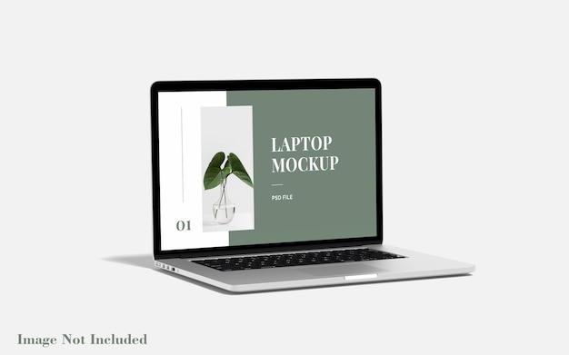 Maqueta de portátil premium psd