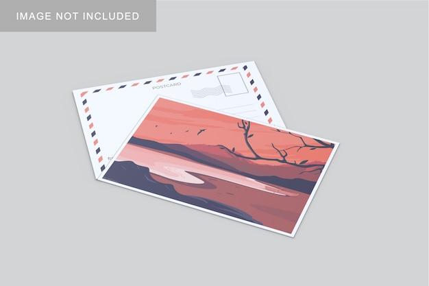 Maqueta de postal