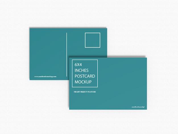 Maqueta de postales
